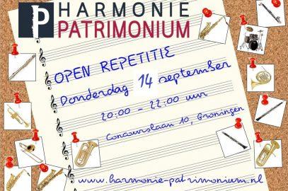 Open repetitie 14 september